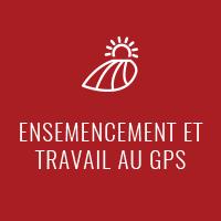 Ensemencement et travail au GPS - Dany Rodrigue Travaux à forfait