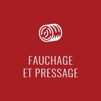 Fauchage et pressage - Dany Rodrigue Travaux à forfait